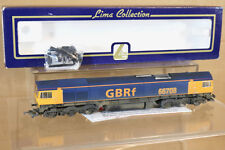 LIMA 204966 RENUMBERED WEATHERED GBRf CLASS 66 LOCO 66708 BOXED nj