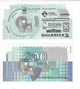 NETHERLANDS JOH.ENSCHEDE PRINTER TEST SOUV AT MAASTRICHT 1990 ERA NICE UNC