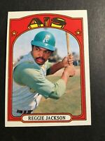 1972 TOPPS #435 REGGIE JACKSON EX+/NM OAKLAND A'S NEW YORK YANKEES HOF