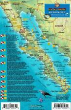 Central Sea of Cortez San Carlos Baja Dive Map Fish Card Waterproof Franko Maps
