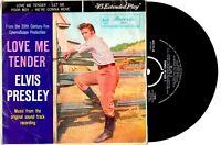 """ELVIS PRESLEY - LOVE ME TENDER - EP 7"""" 45 VINYL RECORD PIC SLV"""