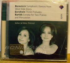 BERNSTEIN, GERSHWIN, BARTOK - Gunther & Suher Pekinel - CD Sealed
