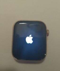 Apple Watch SE 44mm Gold Aluminum Case with Pink Sand Sport Band - Regular (GPS…