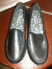 Sketcher's Biker's M.C. Woman's Size U.S. 11 Black Leather Loafers NEW!