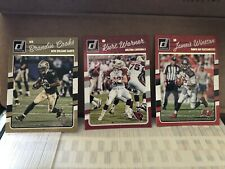 2016 Donruss Football Card Near Complete Set Lot of 3 Sets