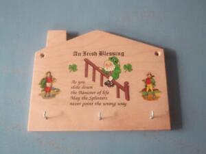 Key Holder House Irish Blessing
