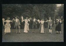 Berkshire Berks READING? period gentry show/pageant c1910/30s? RP PPC Foulsham