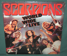 The Scorpions World Wide Live 2 LP Set SEALED 1985 Club Issue MINT