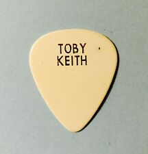 "Vintage TOBY KEITH: ""How Do You Like Me Now?"" Guitar Pick, Used By Him, 1999"