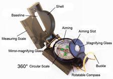 Multifunzione Bussola Tascabile Compass All'aperto Navigazione per Caccia Pesca
