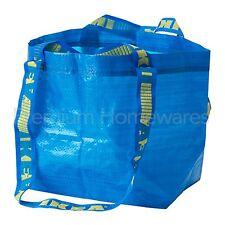 1 x IKEA BRATTBY Small Blue Storage Bag 27x27cm (Mini FRAKTA Style)