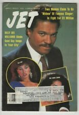 Jet Magazine Billy Dee Williams Ola Ray March 11, 1985 061920nonr