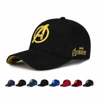 Marvel Avengers LOGO Embroidery Casual Outdoor Baseball Caps Hats For Men Women