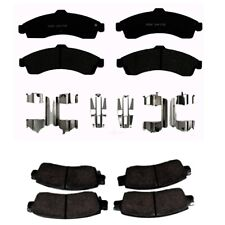 Front & Rear Brake Pad Sets Kit ACDelco For Chevrolet SSR 03-04 Automatic 4L60-E