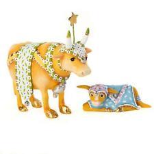 Patience Brewster NATIVITY COW & CALF MINI FIGURES KRINKLES NIB CUTE!!