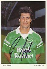 Ertan Irizik   FC ST.Gallen  Fußball Autogrammkarte signiert 365761