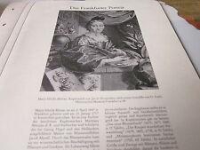 Frankfurt archivado a 5 Portrait 3013 Maria Sibylla Merian 1647-1717 J Houbraken