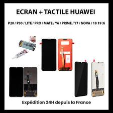 ECRAN VITRE TACTILE POUR HUAWEI P20/P30/P/SMART/MATE/LITE/2018/2019/PRO/Y6/Y7/3i