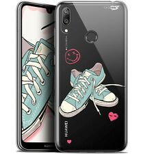 """Coque Gel Huawei Y7 / Prime / Pro 2019 (6.26"""") Extra Fine - Mes Sneakers d'Amour"""