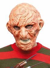 Freddy Krueger Face Mask Nightmare on Elm Street Halloween Freddie