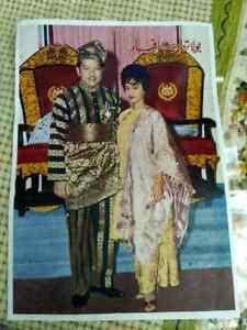P. Ramlee Saloma Filmstar Photo Malaya Singapore malaysia photo reprint original