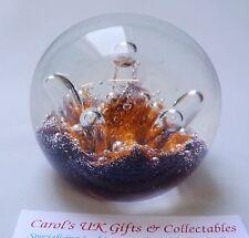 Caithness Art Glass Paperweight Seadance  - Made in Scotland