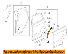 Acura HONDA OEM 13-18 RDX Rear Door-Rear Seal Right 72945TX4A01