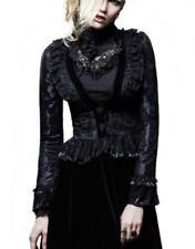 Gothic Damenjacken & -mäntel aus Samt