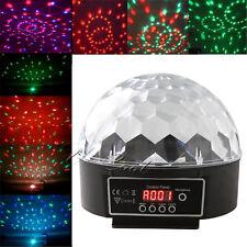 RGB DMX512-4 LED Club Ball Light Disco DJ Party Stage Magic Digital Projector UK