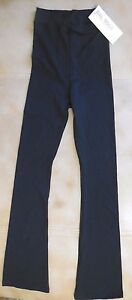 NWT Bal Togs SPX8646 Black Supplex Bootcut Pants Extra Large Adult Dance