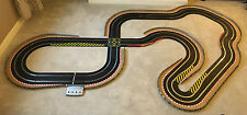 Scalextric Digital Large Layout with Crossover / Hairpin & 2 Digital Cars *