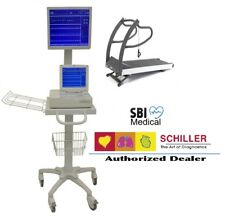 BRAND NEW SCHILLER CARDIOVIT AT-10 Plus Stress System complete FREE INSTALL FL