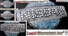 Auto KFZ Emblem Logo Glitzer Glitter Einzelstück by Amor*New Col2017>CrasyTuning