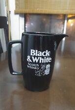 Black White Scotch Whisky Pitcher