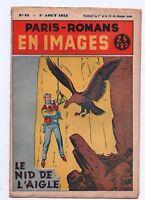 PARIS-ROMANS EN IMAGES  n°18. Le Nid de l'Aigle. Récit complet 1953