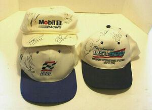 Vintage Autographed  Racing Memorabilia/Hats