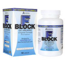 Absolute Nutrition F-BLOCK Fat Absorber, 90 caps FAT TRIMMING DIET FORMULA