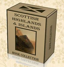 257 Rare Scottish Highlands Books on DVD Clans Tartan Local History Ancestry C2