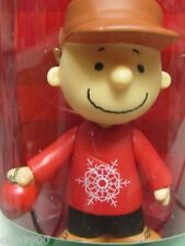 """Peanuts Snoopy """"Charlie Brown Christmas Figure New in Box 2013"""