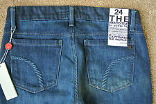 JOE'S THE PROVOCATEUR JEANS 24X30 NWT$175 Distressed Wash! Petite Fit! Boot!Sexy