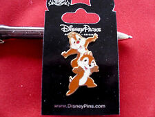 Disney * CHIP & DALE - On Shoulders - BOBBLE * New on Card Character Trading Pin