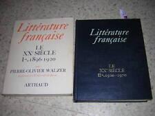 1975.littérature française XXe.2/2.autographe Walzer