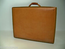 "Hartmann Luggage Belting Leather 25"" Woodbox Pullman Suitcase"