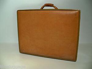 "Hartmann Luggage Belting Leather 25"" Woodbox Pullman Suitcase"