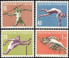 Liechtenstein 1956 Javelin/Pole Vault/Athletics/Sports/Games 4v set (n44775)