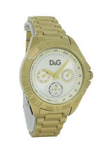 Dolce & Gabbana Time DW0647 Men's Champagne Roman Numeral Day Date Analog Watch