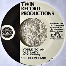 Bo Cleveland Yodle Yodel to an Old Lady 45 NM Atlanta Georgia Label After Three