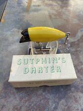 New listing Awesome Vintage Sutphin'S Dartfishing Lure In Original Box! Beautiful