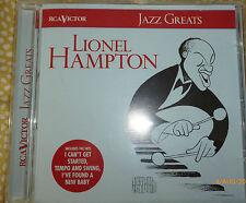 CD - Jazz Greats - Lionel Hampton (Band Recordings 1939-1956, 1997)