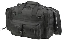 Black Tactical Concealed Carry Bag Pistol Gun Range Large Duffle CCW Rothco 2649
